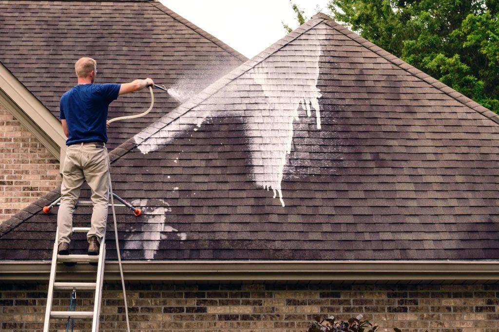 Anti-mousse pour toiture : comment choisir son produit de nettoyage ?